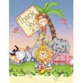 Nighty Night Bazooples Baby Shower Thankyou Cards